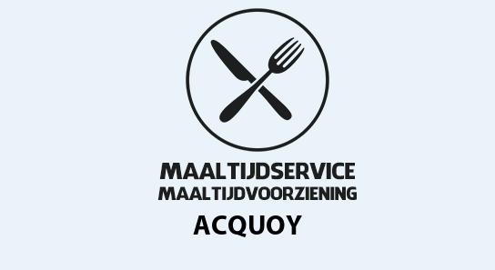 maaltijdvoorziening acquoy