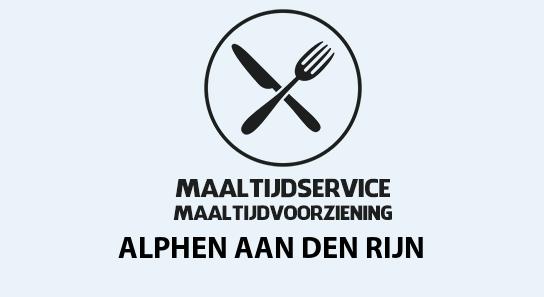 maaltijdvoorziening alphen-aan-den-rijn
