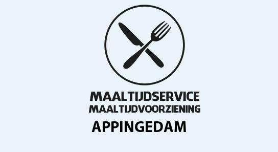 maaltijdvoorziening appingedam