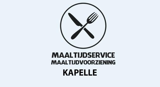 maaltijdvoorziening kapelle