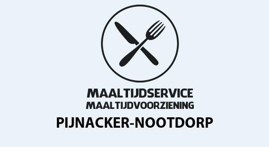 maaltijdvoorziening pijnacker-nootdorp