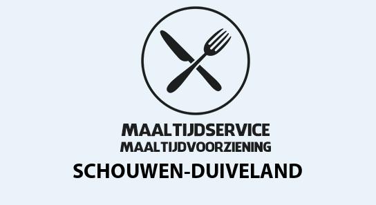 maaltijdvoorziening schouwen-duiveland