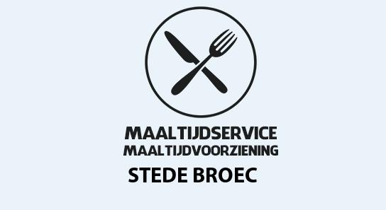 maaltijdvoorziening stede-broec